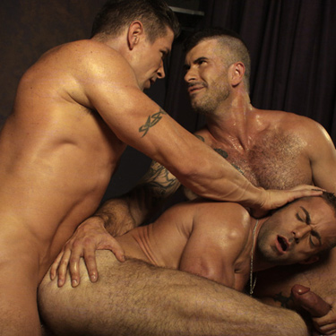 Jake Genesis, Trenton Ducati and Adam Killian - Naked Sword photo gallery
