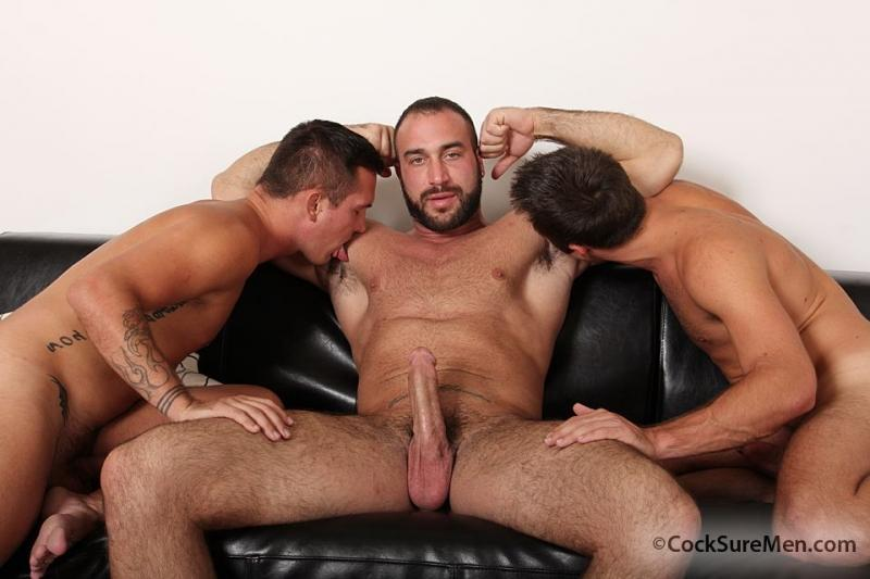 Spencer Reed Brody Wilde And Mike De Marko Cocksure Men