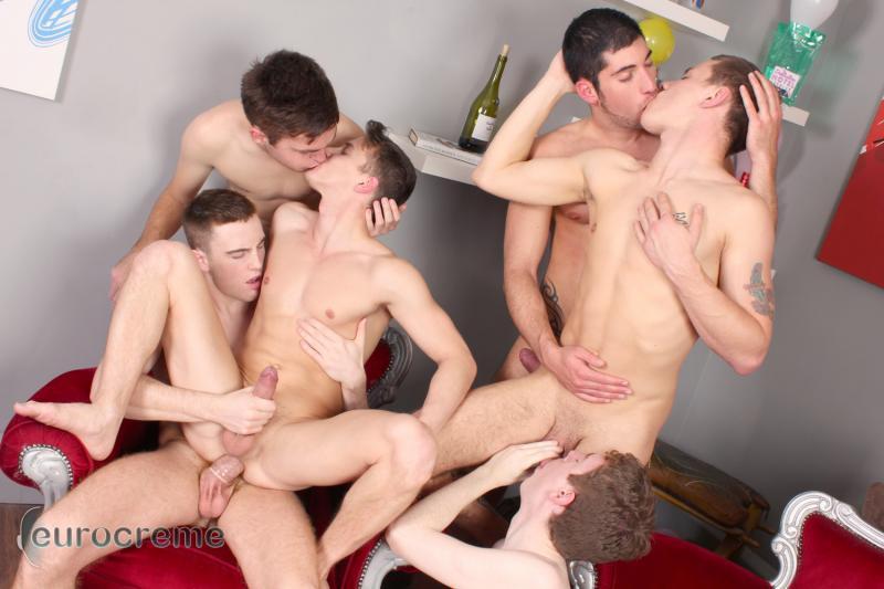 Boy orgy