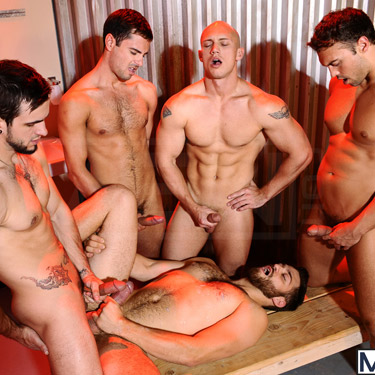 Gay men pics gangbang photo