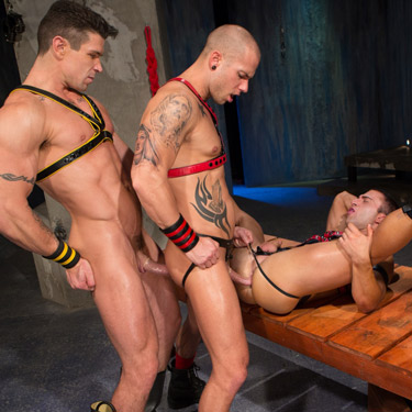 Rod Daily and Trenton Ducati fuck JR Bronson - Hot House photo gallery