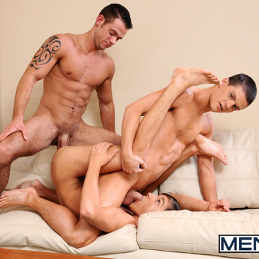 Tyler Sweet, Johnny Rapid and Cooper Reed - Men.com photo gallery