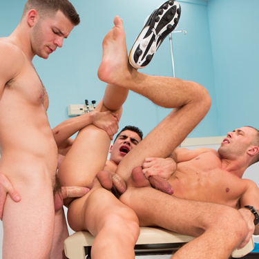 Angel Rock, Lance Luciano and Brandon Jones - Hot House photo gallery