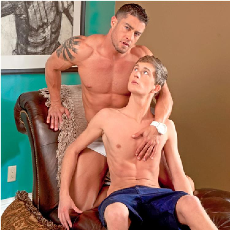 Preston Burgess blows Cody Cummings - Next Door Stars photo gallery