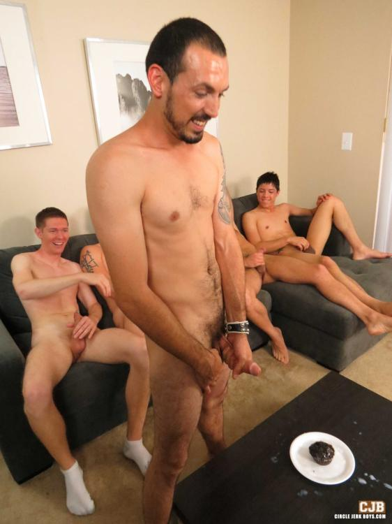 Gay twinks circle jerk group pics all in the name of money i say