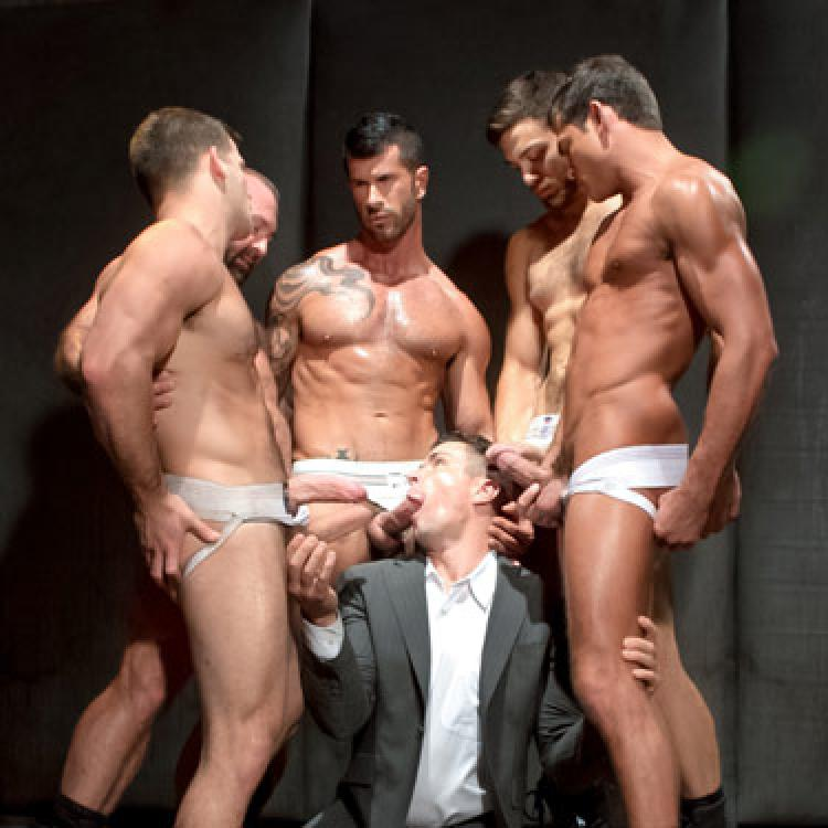 5-man Orgy - Raging Stallion photo gallery