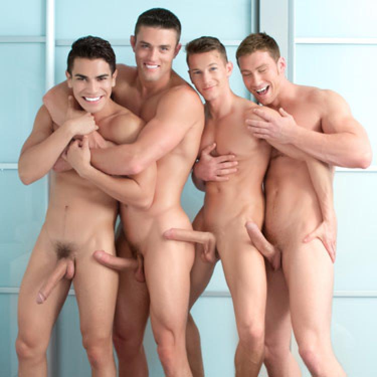 Connor, Ryan, Lance and Darius - Falcon Studios photo gallery