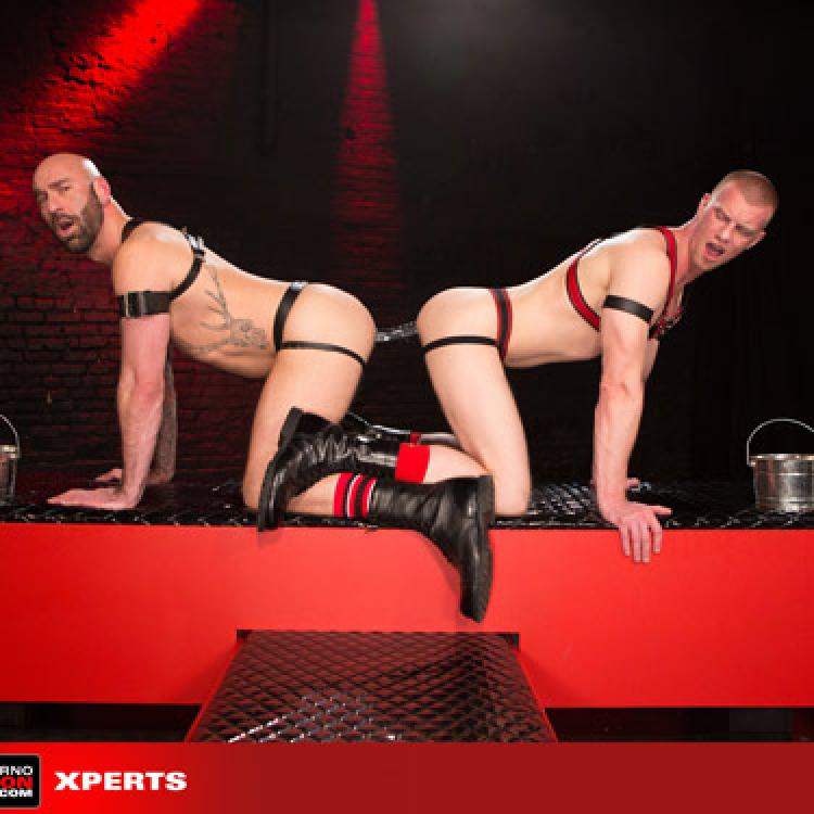 Drew Sebastian and Blake Daniels - Club Inferno Dungeon photo gallery