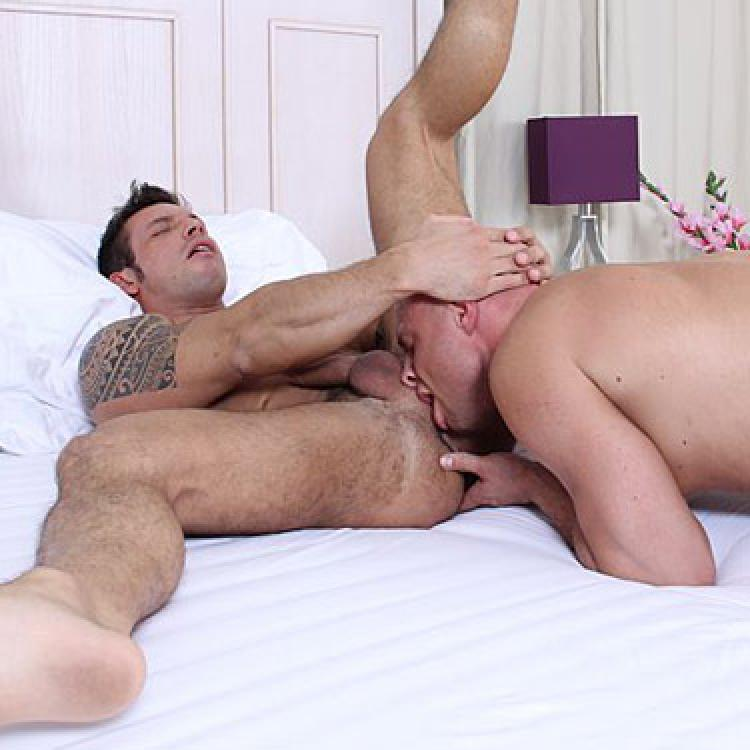 Cocksure men gay porn