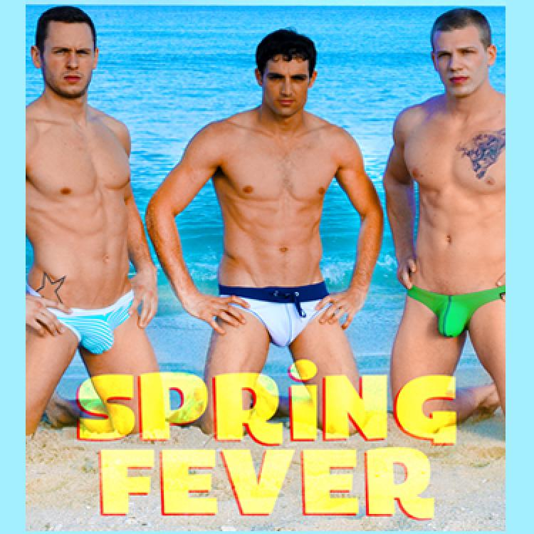Jack King, Asher Hawk and Johnny Forza - Men.com photo gallery