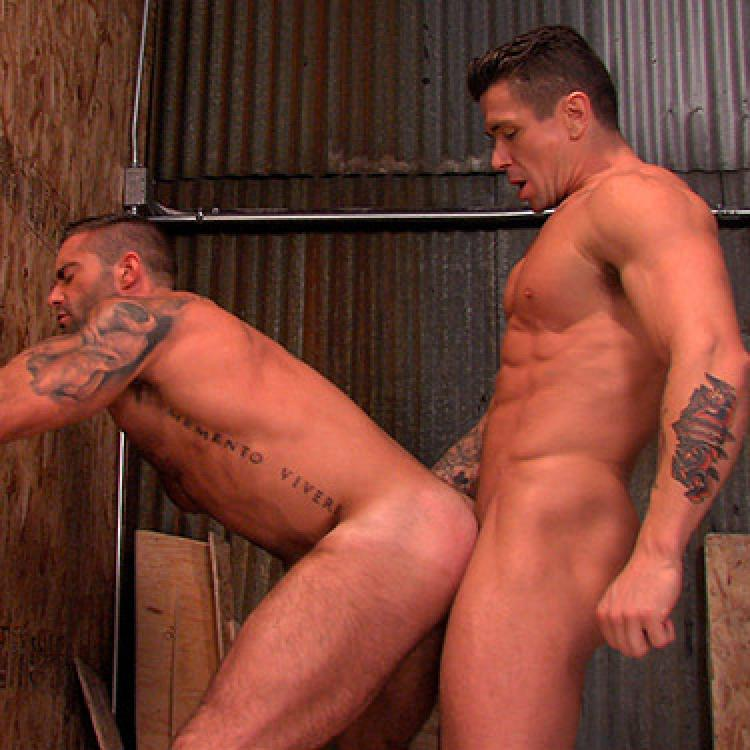 Trenton Ducati and Jake Genesis flip fuck - Titan Men photo gallery