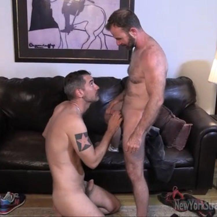 New York Straight Men gay porno