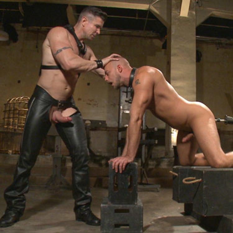 Dirk Caber, Jessie Colter and Trenton Ducati - Bound Gods photo gallery