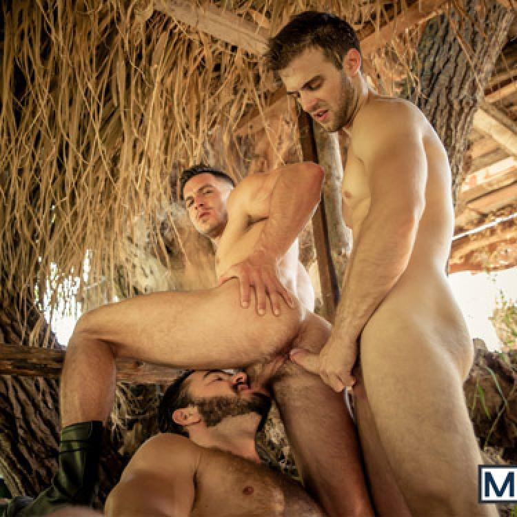 Paddy O'Brian, Gabriel Clark and Jessy Ares - Men.com photo gallery