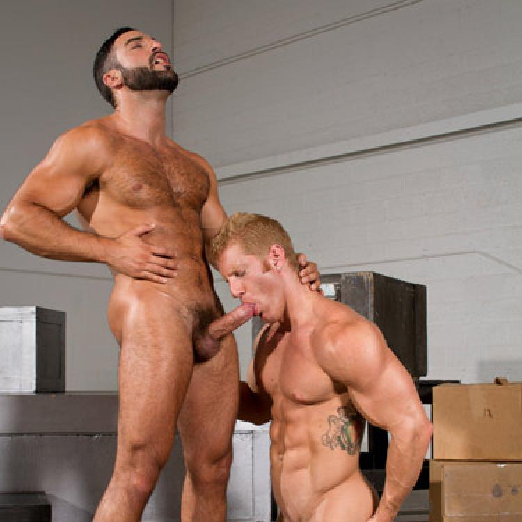 Abraham Al Malek fucks Johnny V - Raging Stallion photo gallery