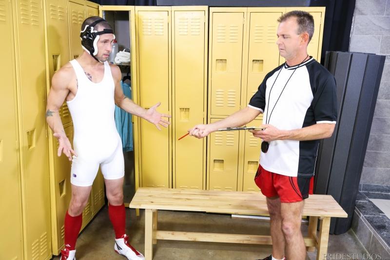 Gay porn wrestling coach