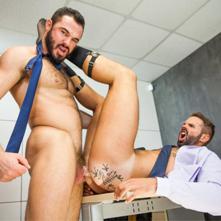 Dani Robles and Jessy Ares - Men.com photo gallery