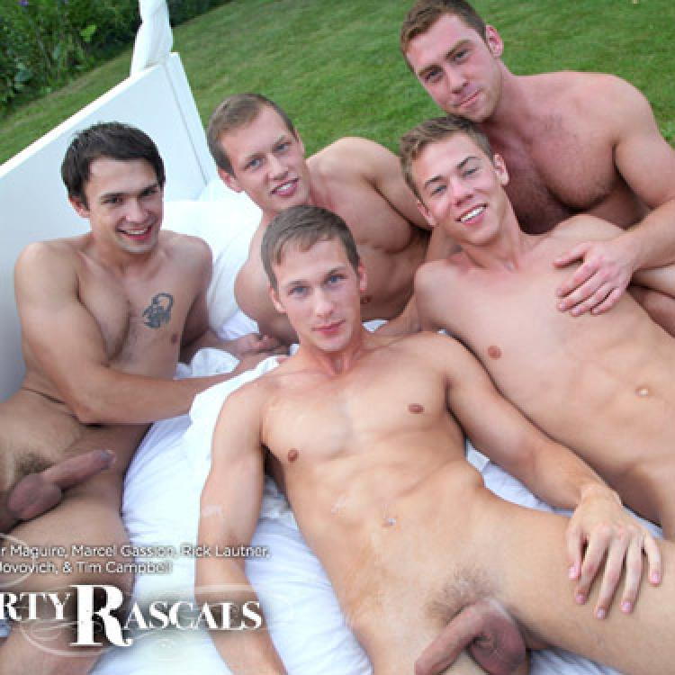 5-man Orgy - Naked Sword photo gallery