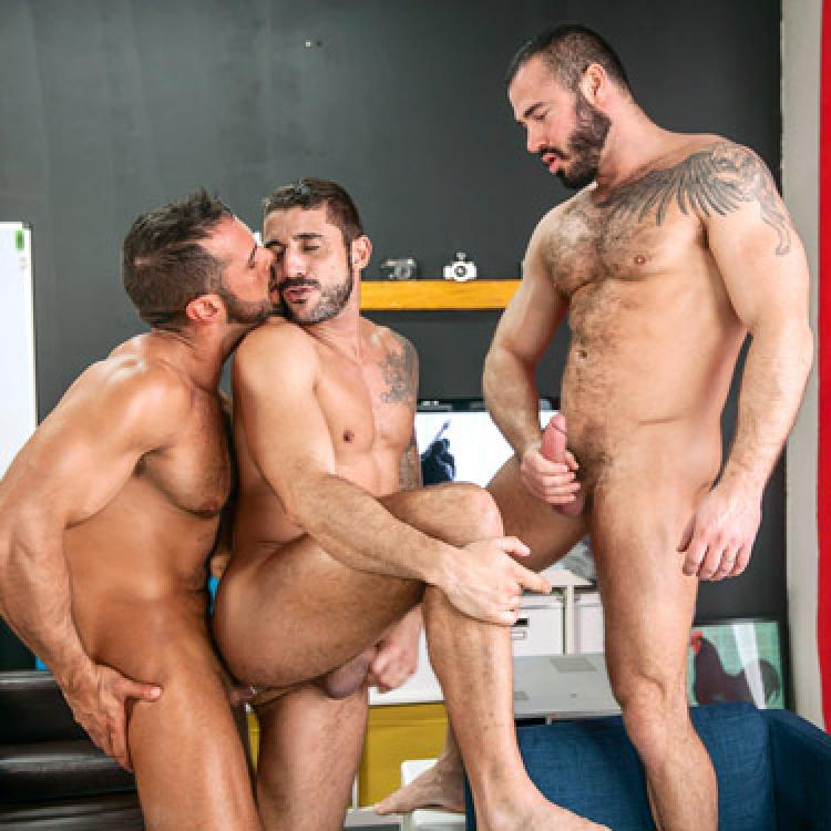 Denis Vega, Jessy Ares and Max Torro - Men.com photo gallery