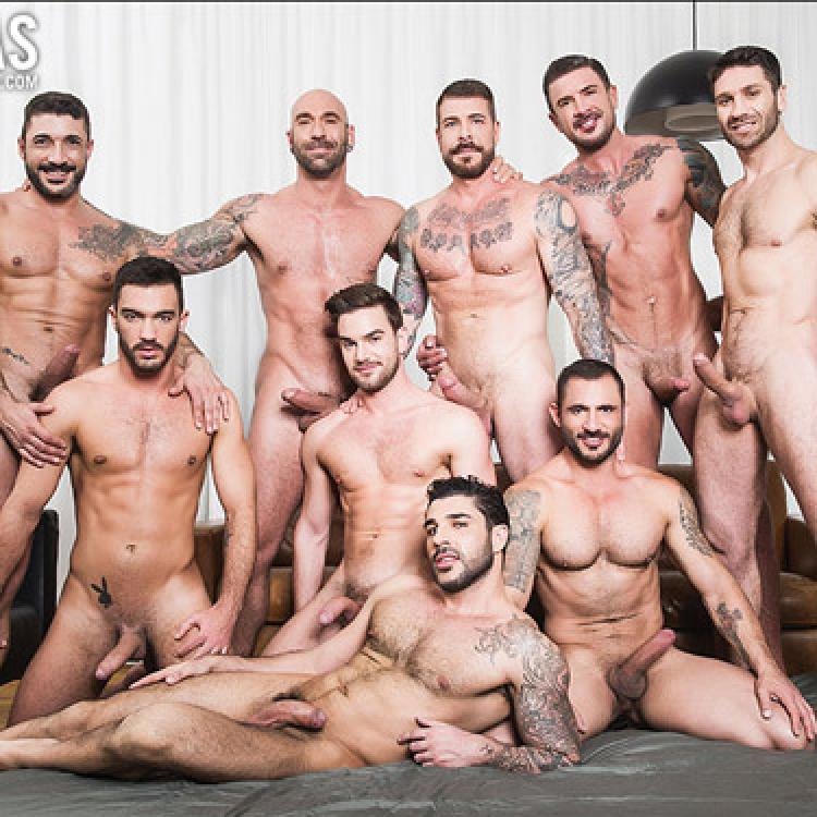 Rocco Steele's Breeding Party - Raw - Lucas Entertainment photo gallery