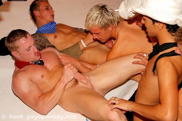 Burning Gays Orgy