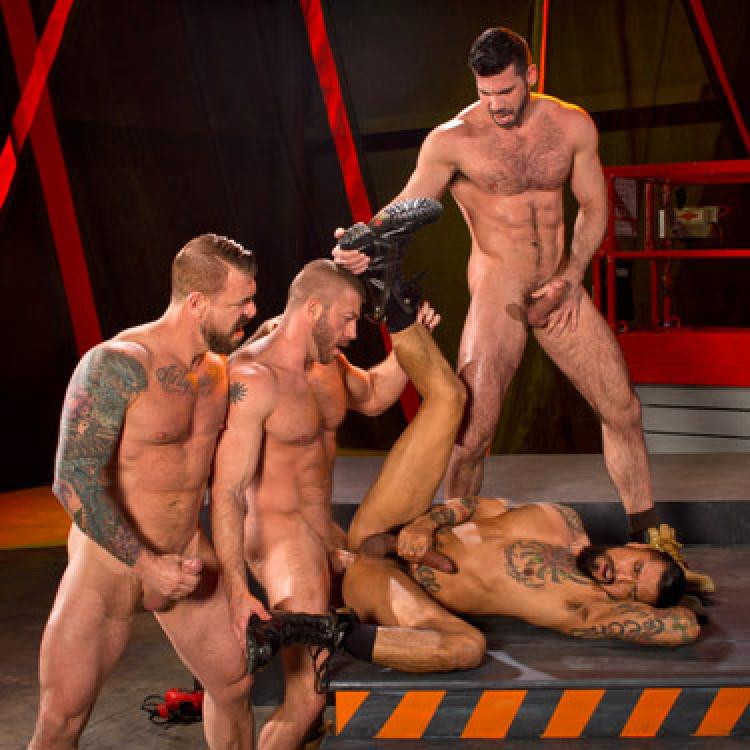 Billy Santoro, Rocco Steele, Hunter Marx and Boomer Banks - Raging Stallion photo gallery
