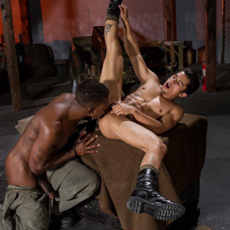 Armond Rizzo and Krave Moore - Club Inferno Dungeon photo gallery