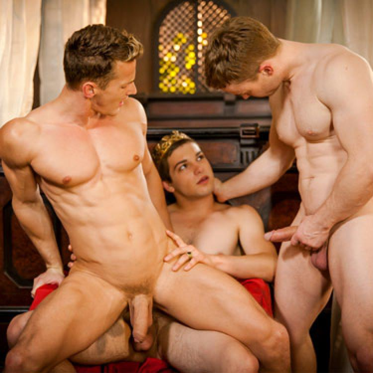 Johnny Rapid, Darius Ferdynand and Gabriel Cross - Men.com photo gallery