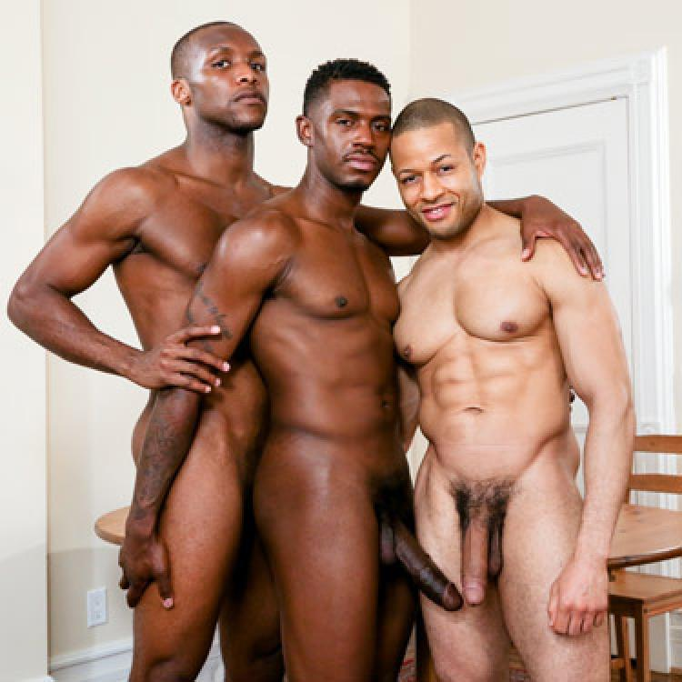 Rex Cobra, Krave Moore and Andre Donovan - Next Door Ebony photo gallery