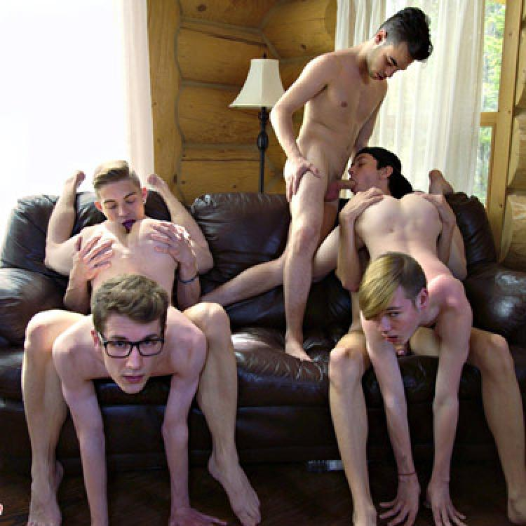 5-man Orgy - Phoenixxx photo gallery
