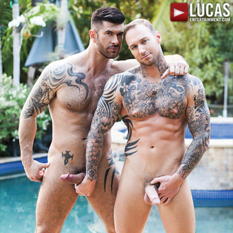 Dylan James tops Adam Killian - Raw - Lucas Entertainment photo gallery