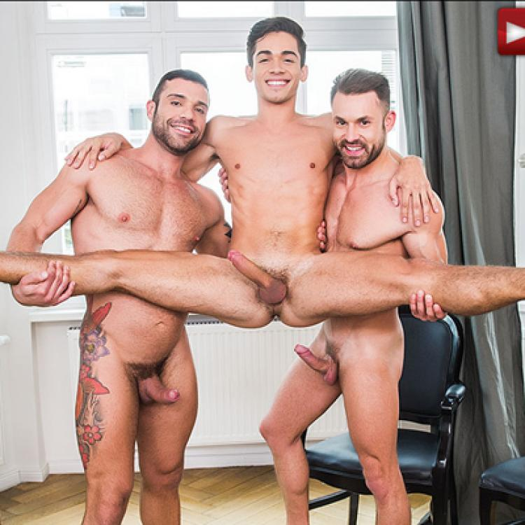Ashton Summers, James Castle and Letterio Amadeo - Raw - Lucas Entertainment photo gallery
