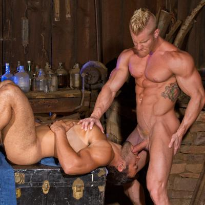 Johnny V and Dorian Ferro - Raging Stallion photo gallery