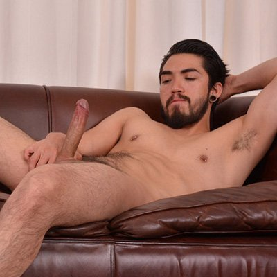 Latino twink alexis belfort jacks off his pecker solo
