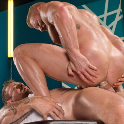 Austin Wolf pounds Johnny V - Falcon Studios photo gallery