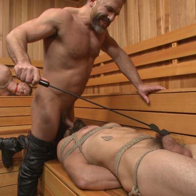 Dirk Caber dominates Dale Cooper - Bound Gods photo gallery