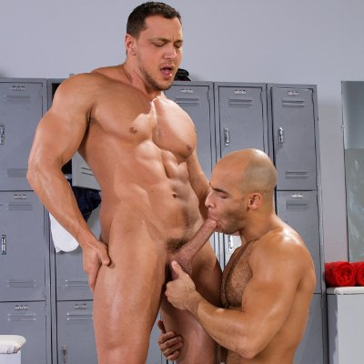 Joey D drills Sean Zevran - Raging Stallion photo gallery