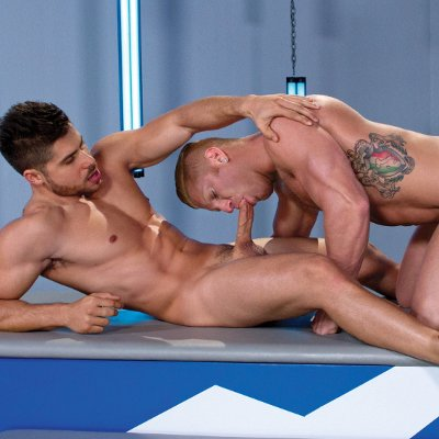 Fabio Acconi rails Johnny V - Falcon Studios photo gallery