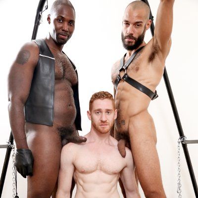 Nubius, Leander and Dylan Henri - Next Door Ebony photo gallery