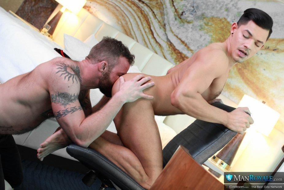 Ethan Slade Derek Parker Hot Rimming Pleasure