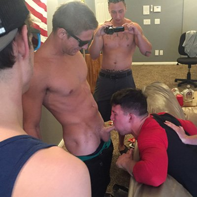 Mike, Gauge, Russel and Michael - Raw - Fraternity X photo gallery
