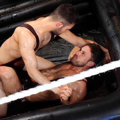 James Castle versus Nathan Raider - UK Hot Jocks photo gallery