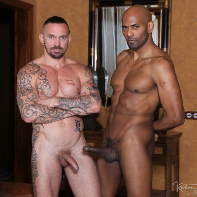 Stephan Raw and William Bravo - Raw - Kristen Bjorn photo gallery