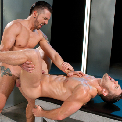 Jimmy Durano drills Ryan Rose - Falcon Studios photo gallery