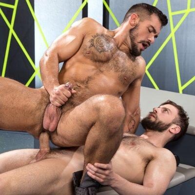 Bravo Delta slams Aarin Asker - Raging Stallion photo gallery