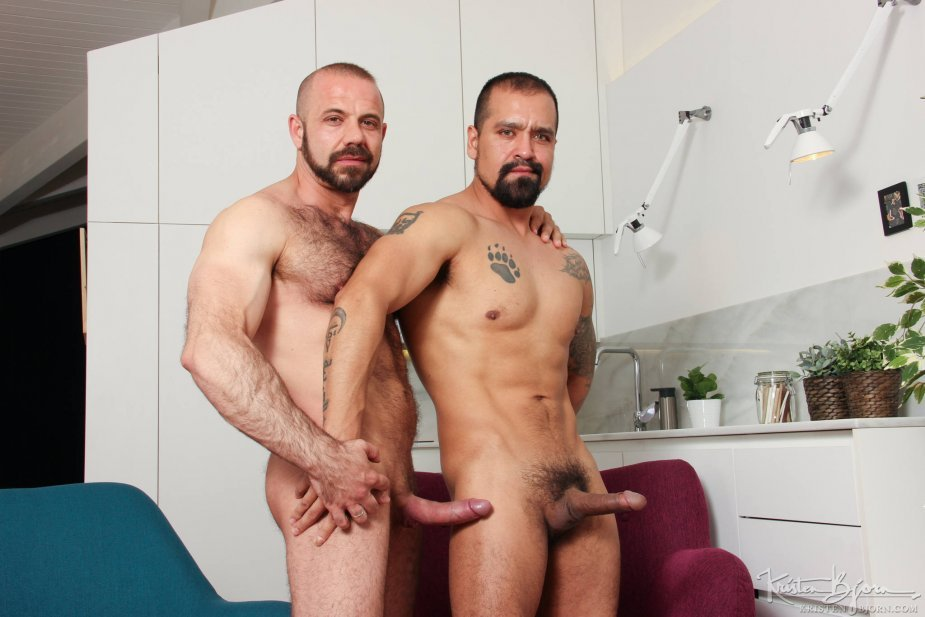 Felipe Ferro fucks Amir Dib - Raw - Kristen Bjorn photo gallery