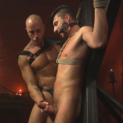 Scott DeMarco submits to Jessie Colter - Bound Gods photo gallery
