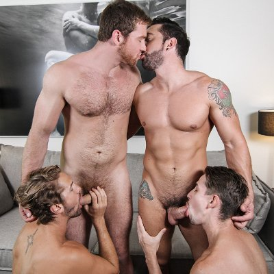 Connor, Jimmy, Jack and Wesley - Men.com photo gallery