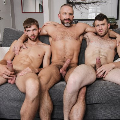 Dalton, Dirk and Vincent - Men.com photo gallery