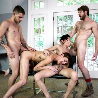 Colby, Tayte, Liam and Kody - Cocky Boys photo gallery